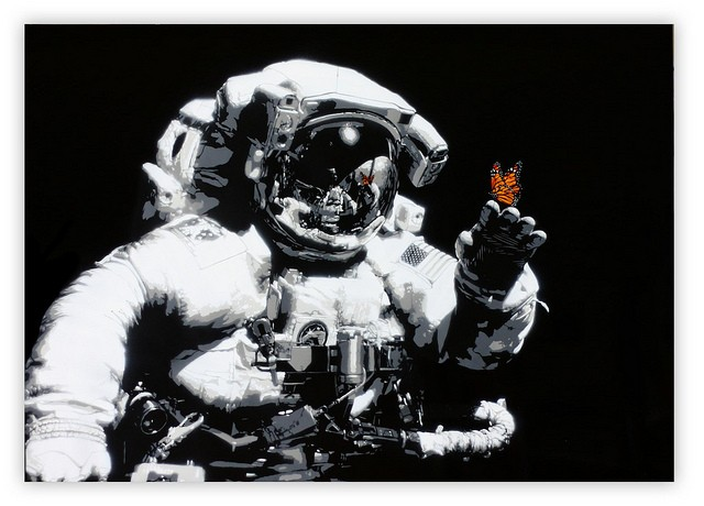 """Martin Whatson """"Eternal Reflection"""" New Original Stencil Available Now"""