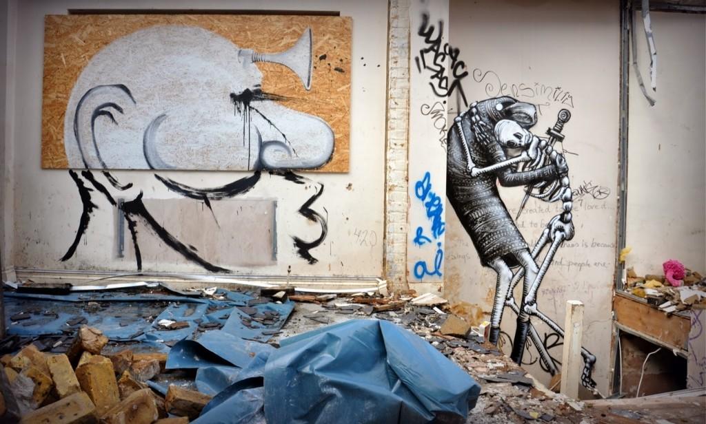 Phlegm, Christiaan Nagel & RUN For Last Breath II – London, UK