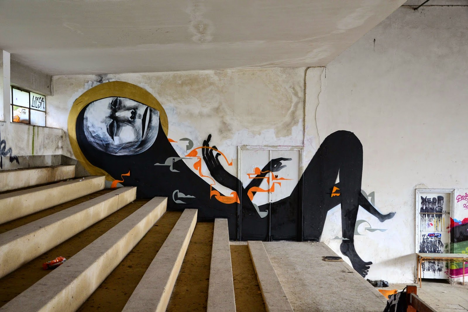 WESR unveils a new series of pieces in Greece   StreetArtNews