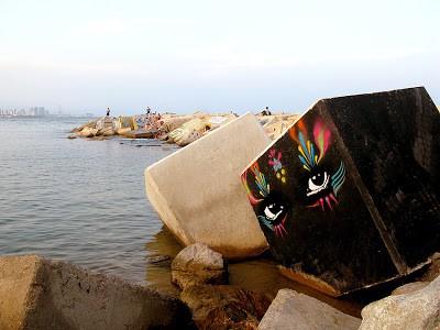 Stinkfish New Mural In Barcelona, Spain