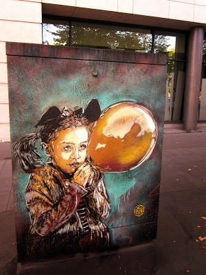 C215 New Street Pieces In Paris, France Part II