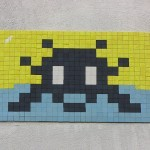 Invader New Street Pieces In Paris, France