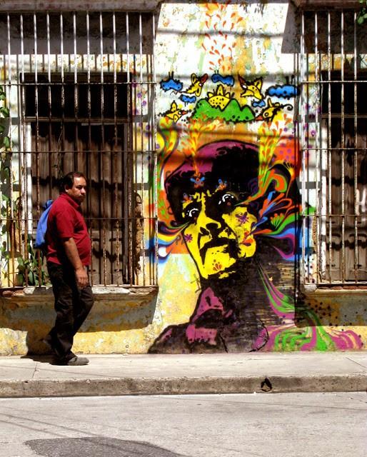 Stinkfish New Mural In Guatemala City