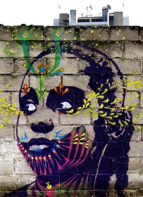 Stinkfish New Mural In Guatemala City Part II