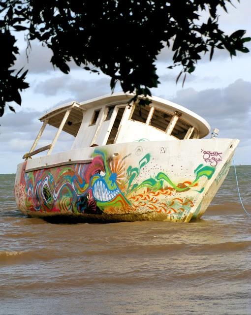 Stinkfish New Boat Piece, Providencia Island Colombia
