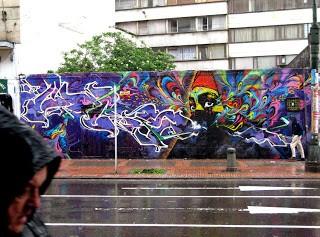 Stinkfish x Mdzinha Zas Animal New Mural In Bogota, Colombia