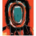 "Dave Kinsey ""The Scream"" New Print Available 7th April"