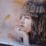 C215 New Street Pieces In Marrakech, Morocco