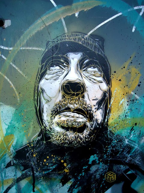 C215 New Street Pieces In Amsterdam, Netherlands
