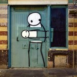 Stik New Street Piece In London