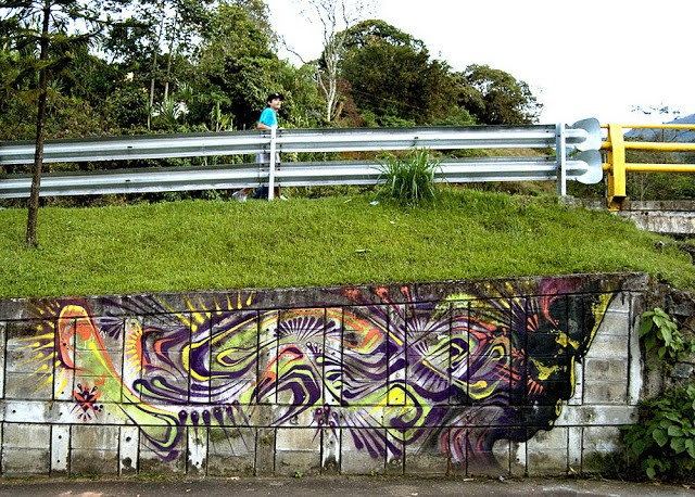 Stinkfish New Mural In Antioquia, Colombia