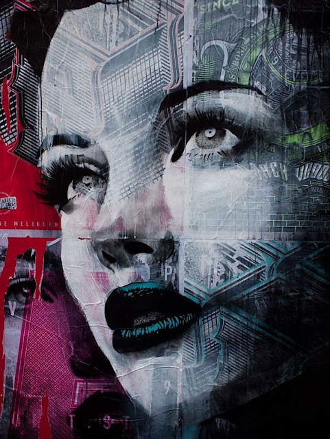 RONE New Mural & Street Pieces In London & Hong Kong