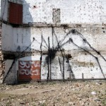 Bonom New Street Pieces In Brussels, Belgium