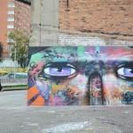 JADE x MDC New Mural In Bogota, Colombia