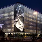 "iNO ""Creasing"" New Mural – Athens, Greece"