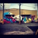 RONE New Mural In Honolulu, Hawaii