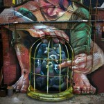 "Case Ma'Claim ""Secured Liberty"" New Mural – Frankfurt, Germany"