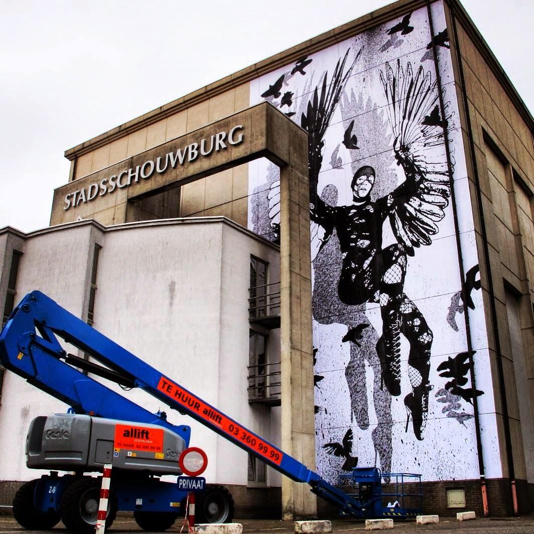 WK Interact New Mural - Sint-Niklaas, Belgium