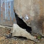 "OakOak ""Pickaxe Head"" New Street Piece – Saint-Etienne, France"