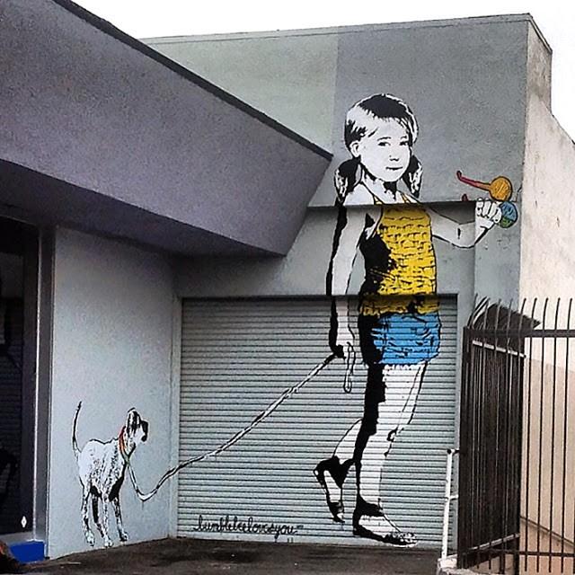 Bumblebee New Mural In Long Beach, USA