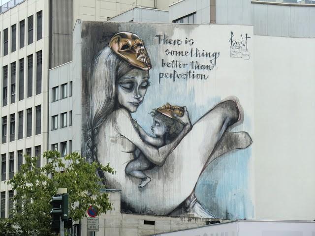 Herakut New Mural In Frankfurt, Germany