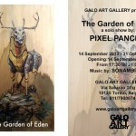 "Pixel Pancho ""The Garden Of Eden"" Solo Show, September 14th, Turin, Italy"