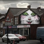 Anthony Lister New Murals In Newcastle, UK