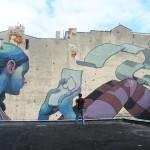 Aryz New Mural In Lodz, Poland