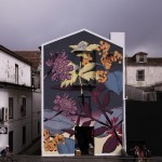 """""""Vascular Endemism"""", a new mural by Pastel in Azores, Portugal"""