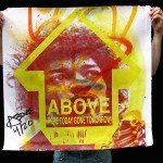 """Above """"Jimi Hendrix"""" New Print Available Now"""