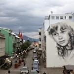 Guido Van Helten New Mural – Akureyri, Iceland