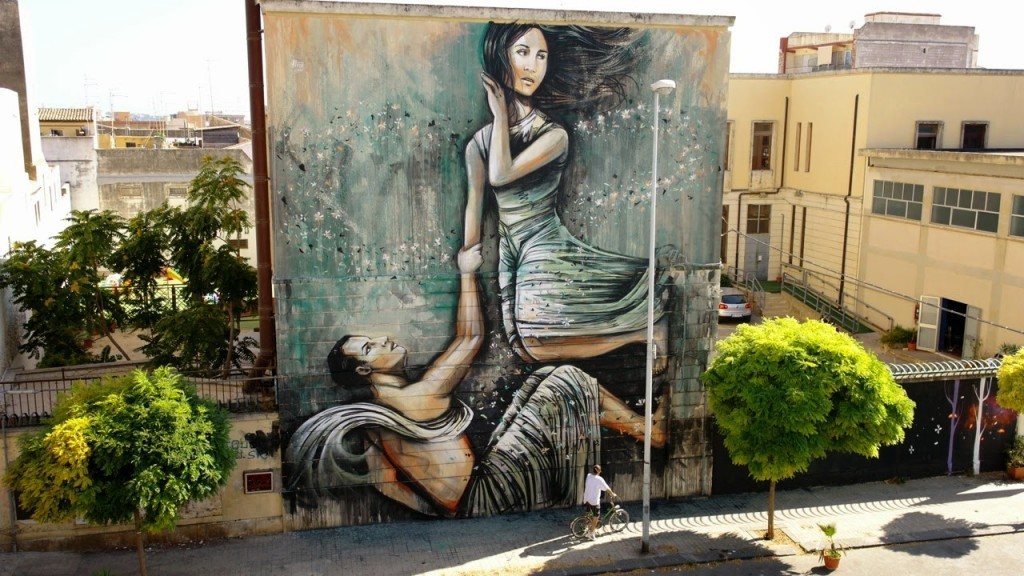 Alice New Mural – Syracuse, Sicily