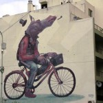 Aryz New Mural In Buenos Aires, Argentina