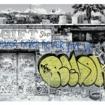 "Mr. Brainwash ""Never Give Up"" New Print Available June 22nd"