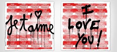 "Mr. Brainwash ""I Love You"" Prints Available 10th February"