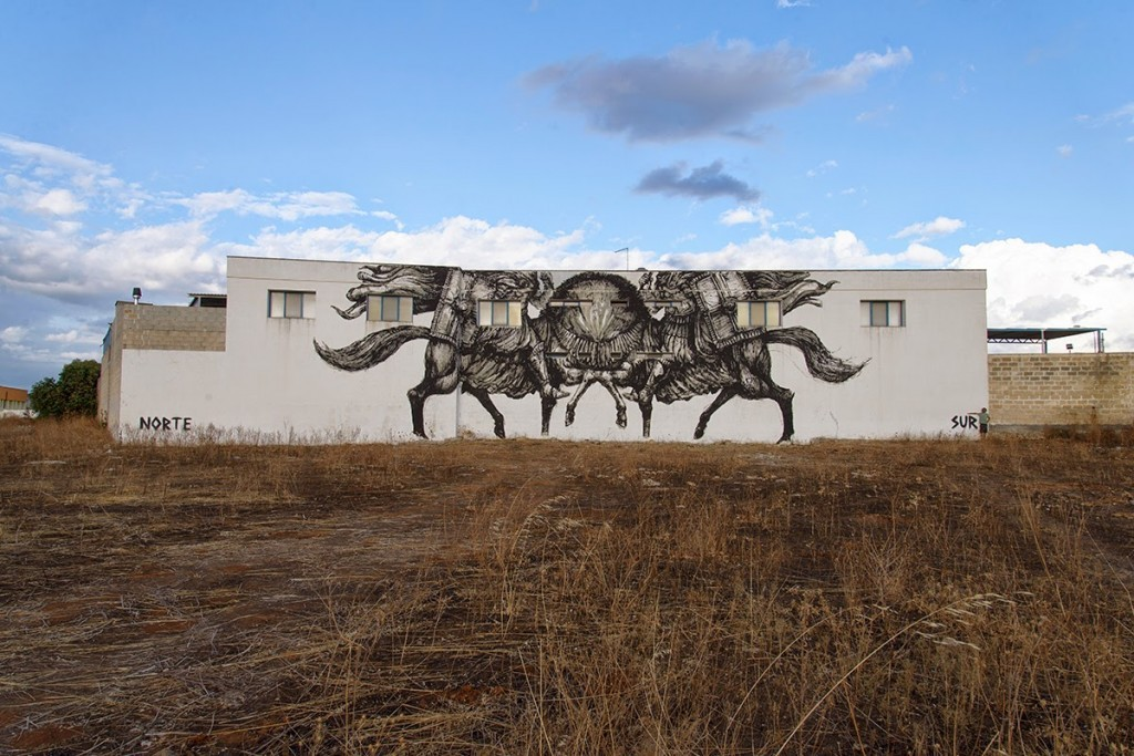 JAZ New Mural For Viavai Project – Racale, Italy