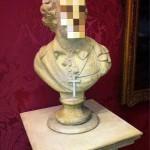 "Banksy ""Cardinal Sin"" New Sculpture In Liverpool"