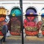 Bastardilla New Mural In London