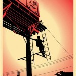 "Shepard Fairey ""Bayshore Billboard"" New Print Available March 10th"