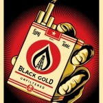 "Shepard Fairey ""Black Gold"" Limited Edition Print Release"