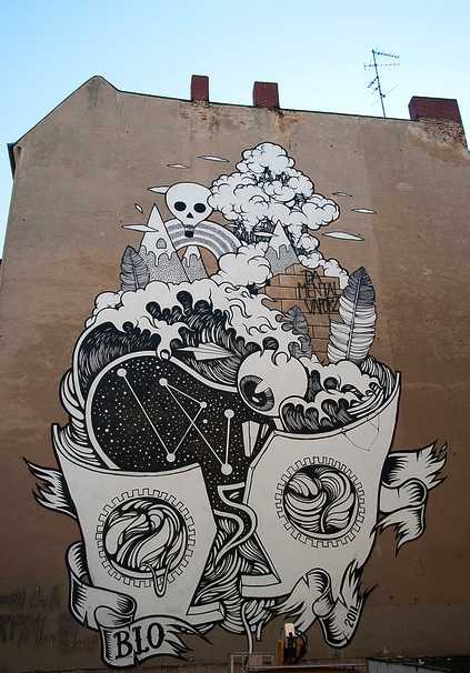 Blo New Mural In Berlin