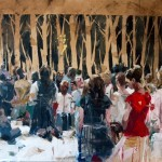 "Preview: Borondo ""Animal"" Exhibition @ London's RexRomae"