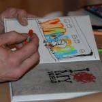 Butterfly Documents Dran's Book Launch