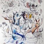 Colin Van Der Sluijs – Four New Original Drawings Available Now!
