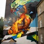 Cekas x Elomelo New Mural In Lublin, Poland
