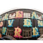 """Ben Eine """"Great Adventures"""" New Mural In Beijing, China"""