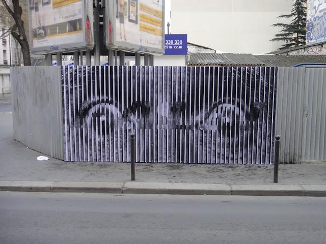 Cyrcle x JR New Mural In Paris