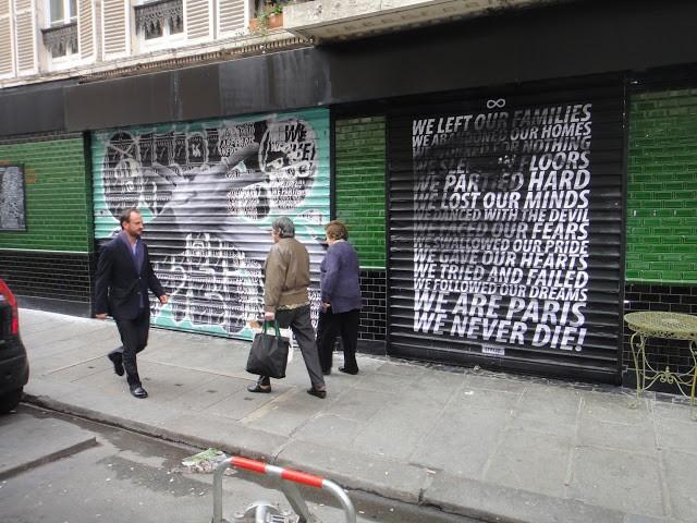 Cyrcle x JR New Pieces In Paris, France