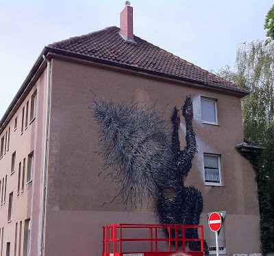 DAL New Mural In Cologne, Germany