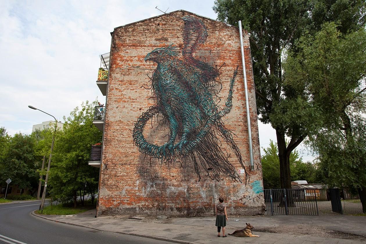 Daleast New Mural Warsaw Poland Streetartnews